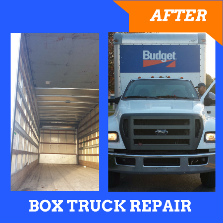 Box Truck Repair Maryland: After