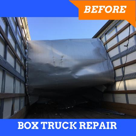 Box Truck Repair Maryland: Before